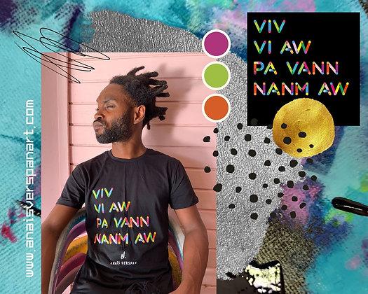 Tee-Shirt Homme VIV VI AW PA VANN NANM AW#4