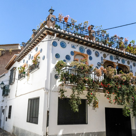 Inside Granada's cave houses