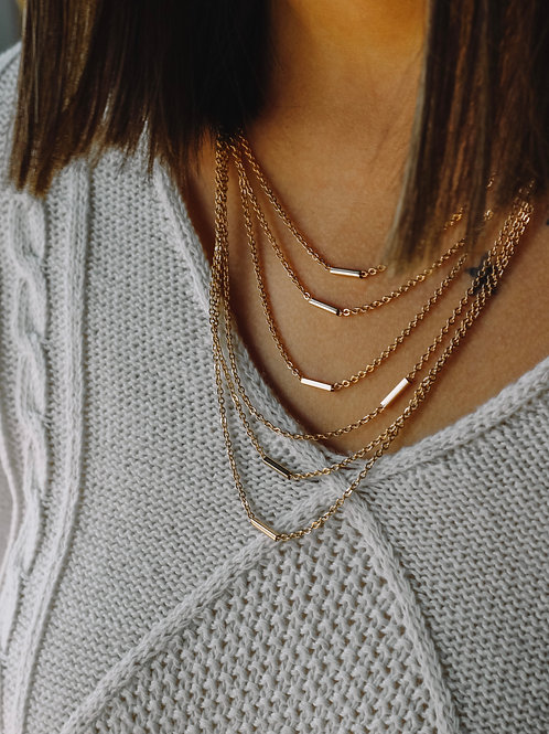 Clementine Tiered Necklace