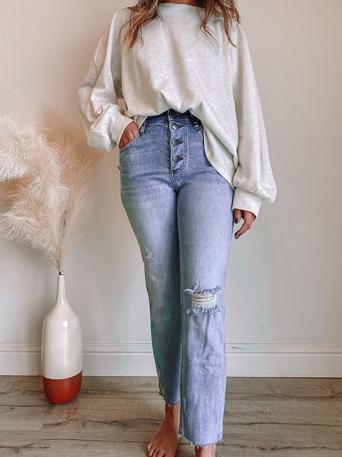 Rachael High Rise Mom Jeans (Enticing Wash)