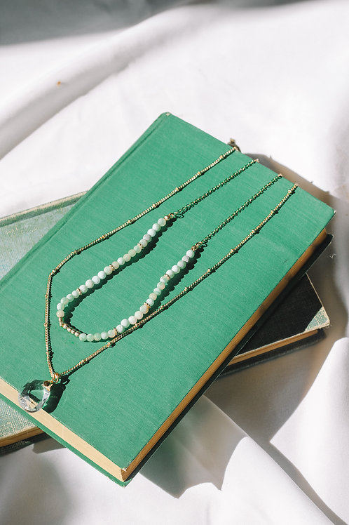 Aloma Two Tier Chain Necklace