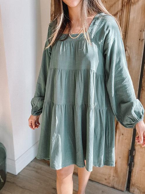 Abigail Long Sleeve Dress