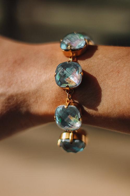 Arctic & Gold Stone La Vie Bracelet (16mm)