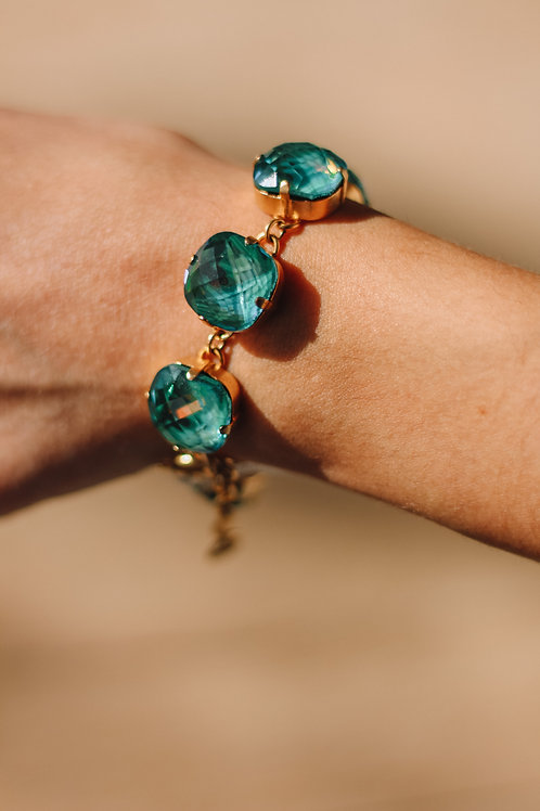 Mermaid & Gold Stone La Vie Bracelet