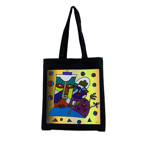 Mysterious Castle Tote Bag