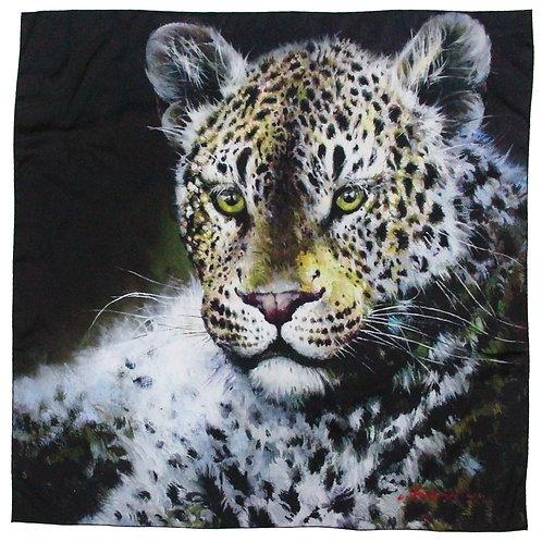 Print on Silk-Leopard