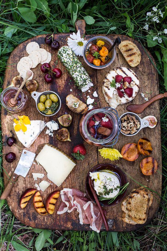 Plateau de fromage & charcuterie