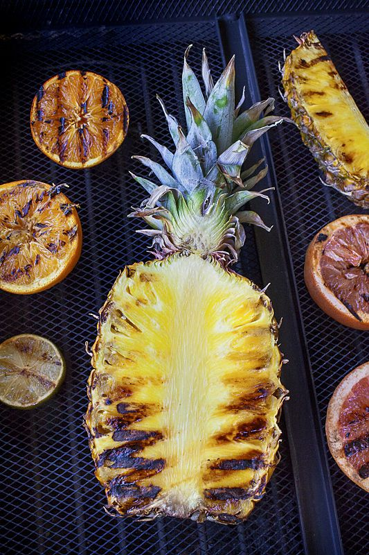 Ananas au barbecue