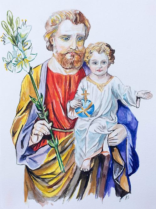 Saint Joseph, Foster Father of Jesus