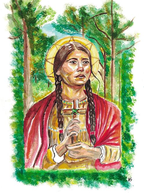 Saint Kateri Tekekwitha