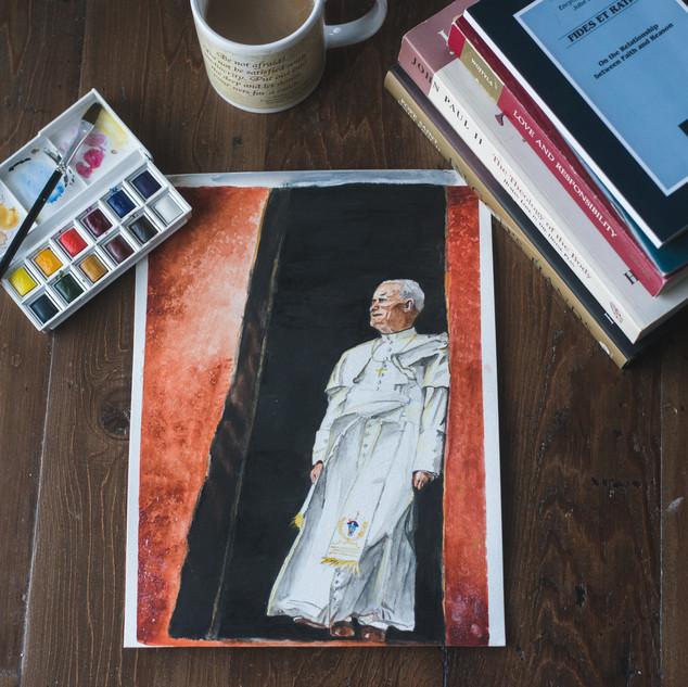 Colorful Saint Prints