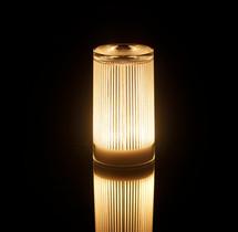 Plisee Glitter Cordless Lamp
