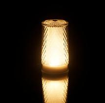 Venetian Glitter Cordless Lamp