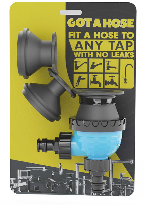 Fit a hose to any tap with no leaks