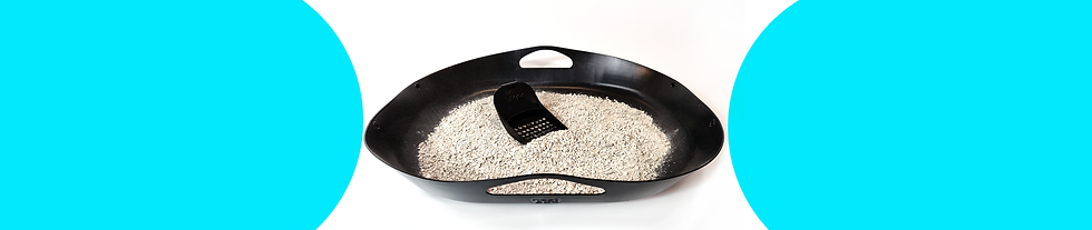Nest & Go Litter Tray, Flexible and Easy Clean