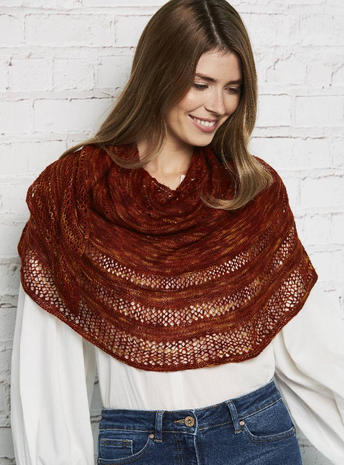 Crescent Shawl