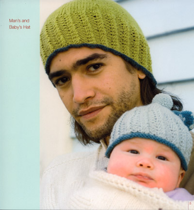 Man and Baby's hat