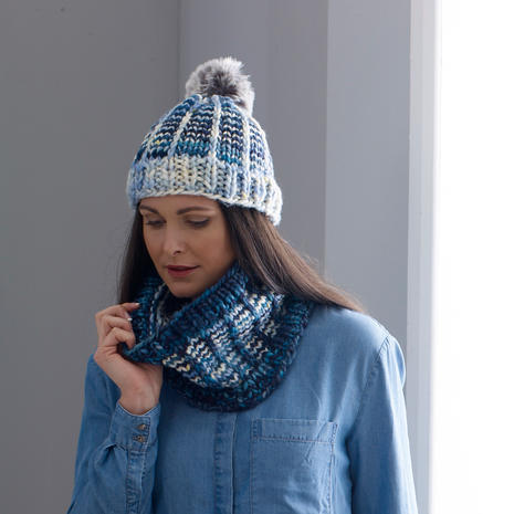 Rise and Shine Hat & Cowl