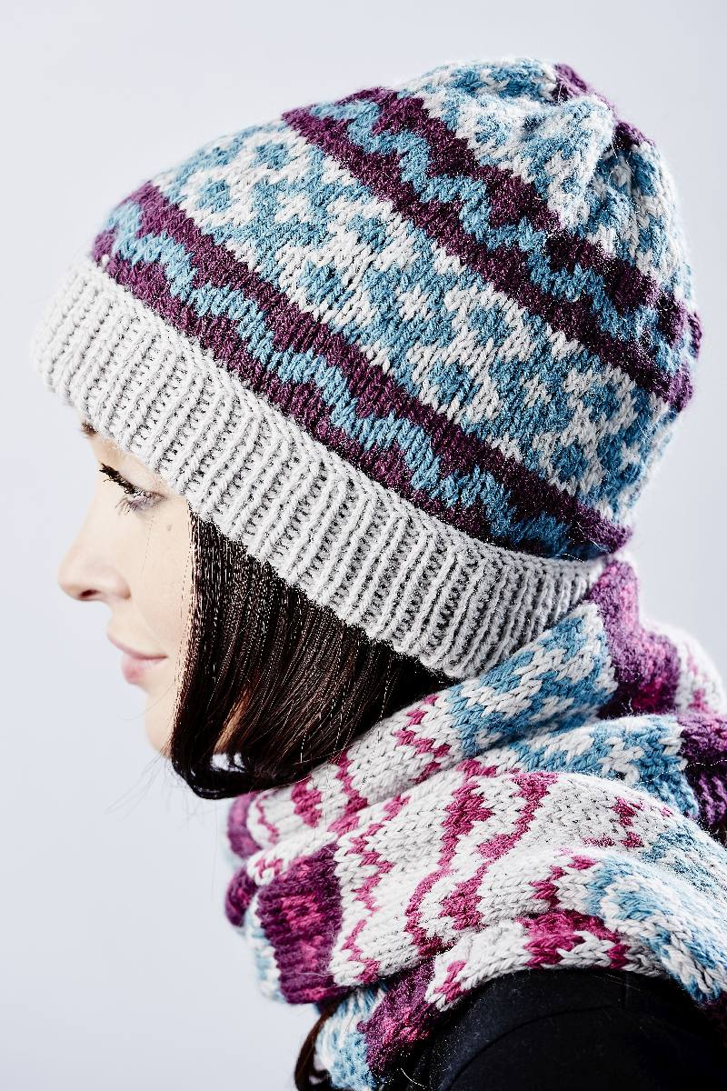 Fairisle Hat**