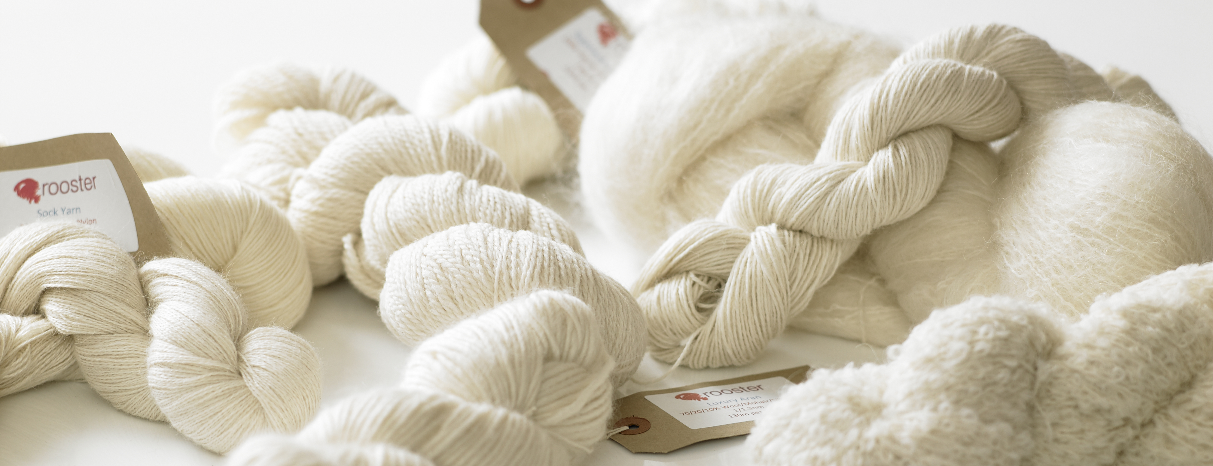 Rooster Undyed Yarns | Addi Needles | Manos Del Uruguay | UK