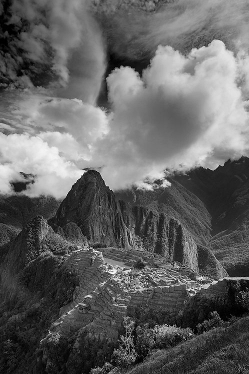 Clearing Clouds, Machu Picchu, Peru