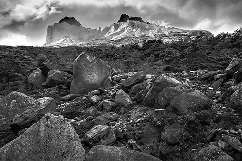 Mountains in Patagonia, Chile