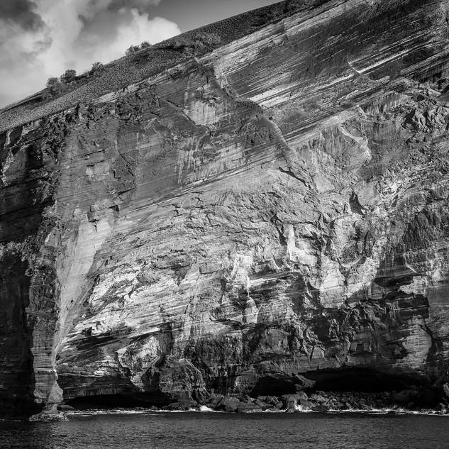 Galapagos Island Cliffs