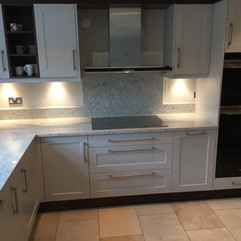 Kitchens designed & made by David Haugh -fitted by Wells Building Co