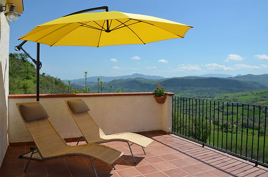 Chill out on your private sun terrace