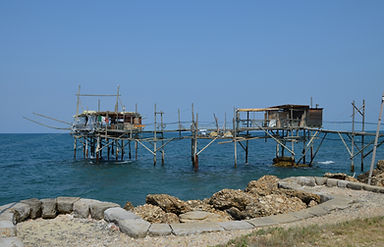 Explore the nearby Trabocchi coast and enjoy a fresh fish lunch