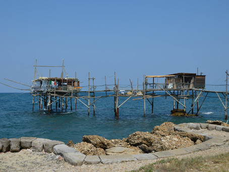Dine on a Trabocco!