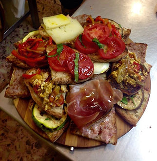 You'll never go hungry in Abruzzo!