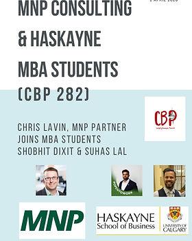 CBP 282_Chris Lavin with Haskayne MBA st