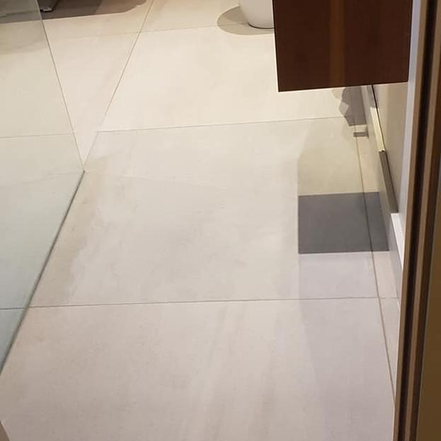 After - Bathroom Repair Job