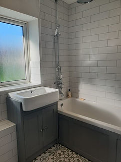 Bathroom and Floor Tiling Grey