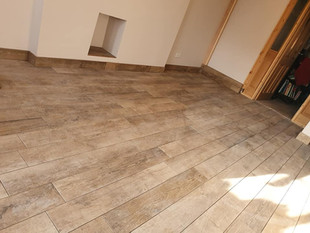 Wood Effect Tiling