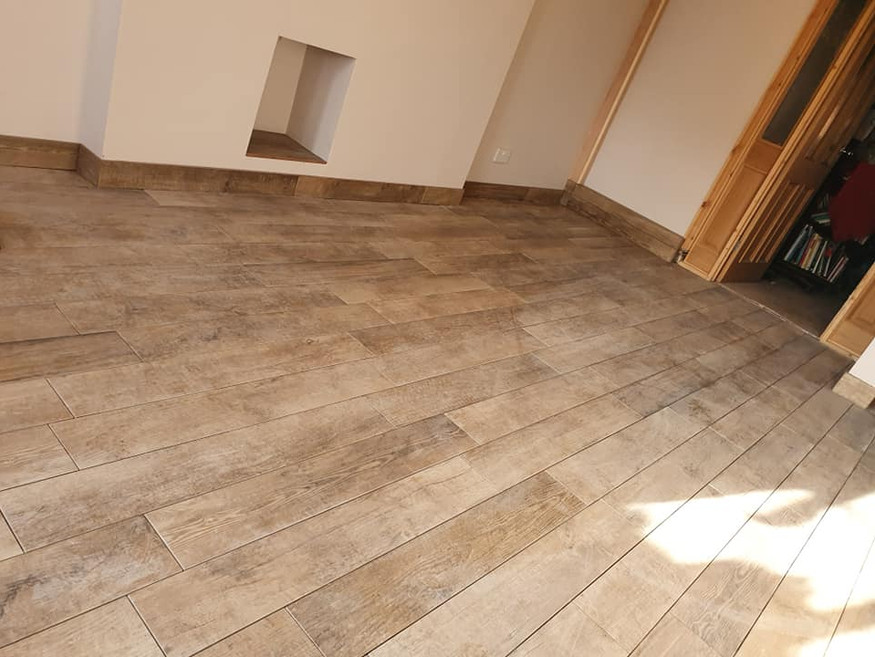 Wood Effect Tiling
