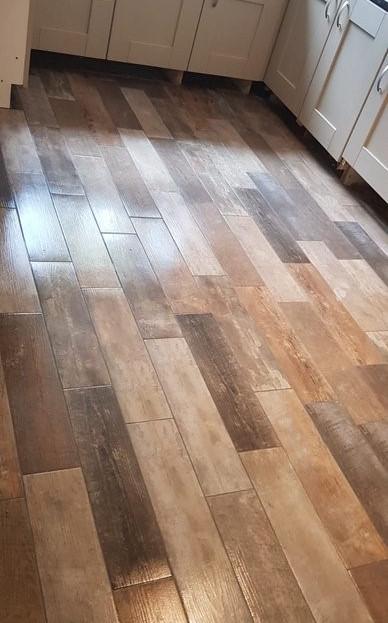 After - Kitchen Floor