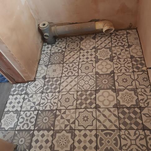 Floor Tiles Pattern