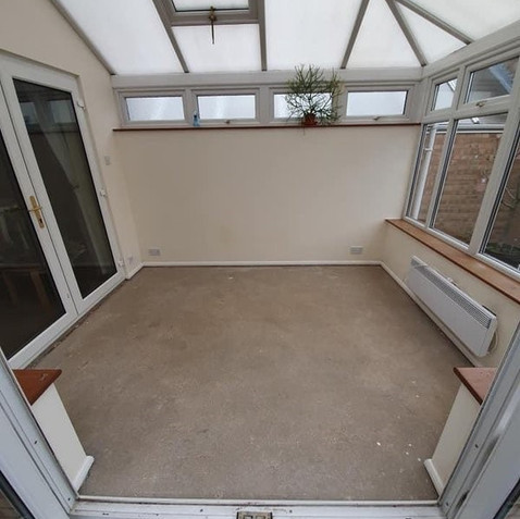 Before - Conservatory