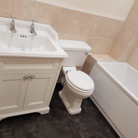 After - Toilet and Sink