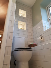 Toilet White Tiling
