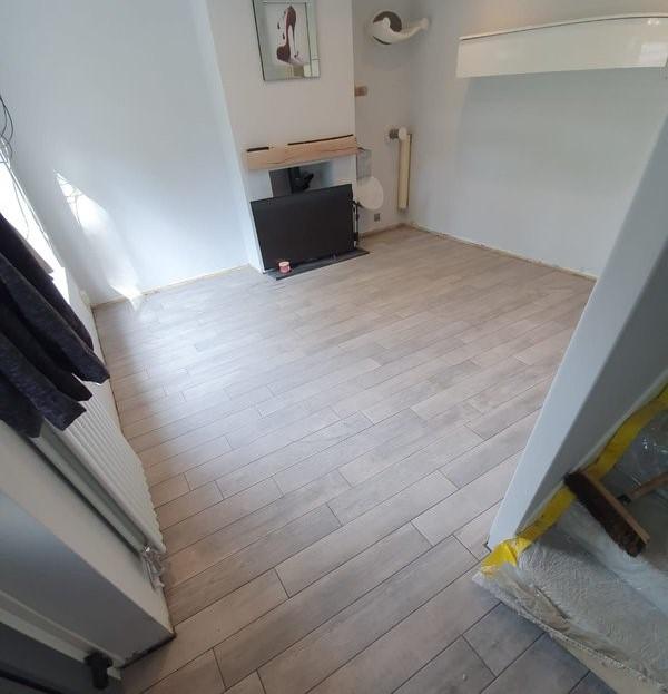 After - Living Room Floor