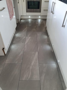 Grey Kitchen Flooring