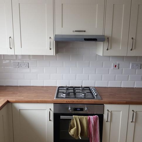 Splashback White Tiles