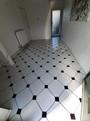 Diamond Tiles Hallway