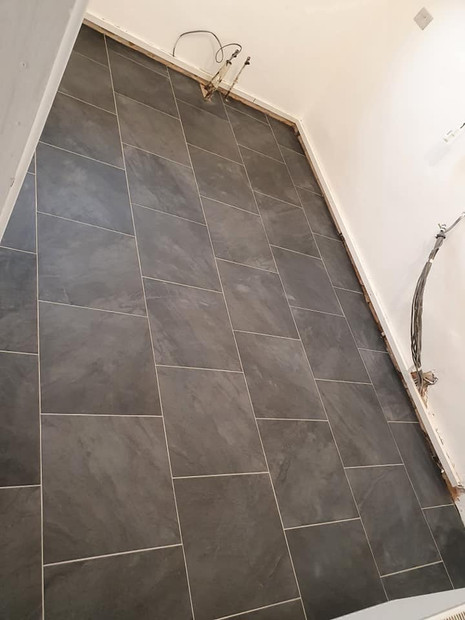 Dark Tiling Floor