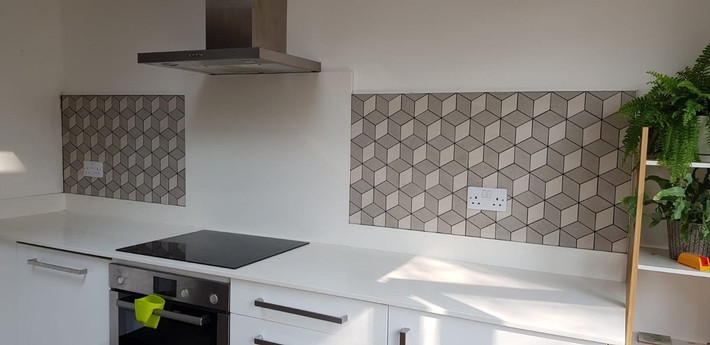 Kitchen Splashback Split