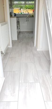 Hallway Long Tiles