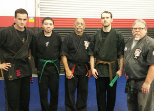 Adult Kenpo Students - Belt Promotion